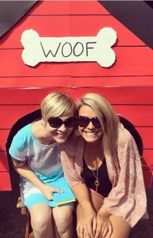 Jen and I doghouse
