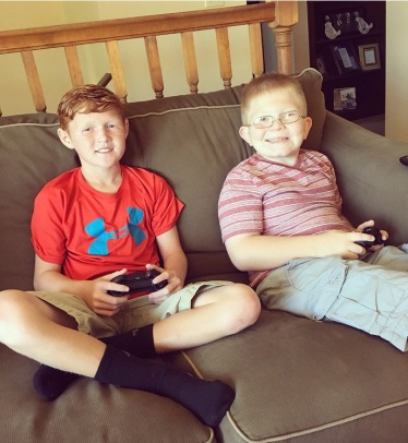 Connor is Noah's best friend and was able to come to his family party since he couldn't make the friend party.